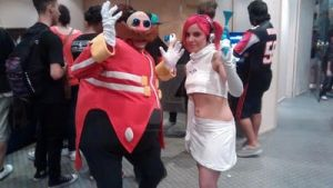 Ulala space channel cosplay by SofiJunkhead