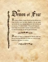 The Demon Of Fear by Charmed-BOS