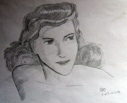 Early Sketch by Newtart