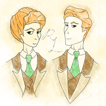 Robert and Rosalind by PenadoxBlackmoon