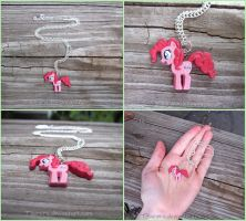 My Little Pony Friendship Is Magic Pinkie Pie by Tsurera