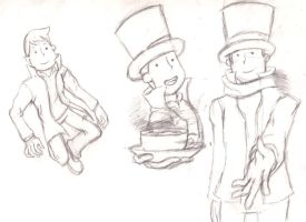 Sketches of a gentleman by Ugh-first-aid