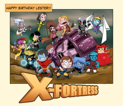 X-Fortress by mazingerpip