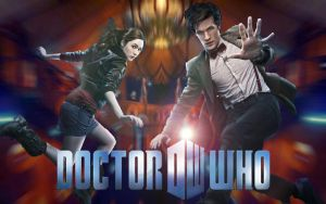 Doctor Who 2010 Wallpaper v4 by Alkonium