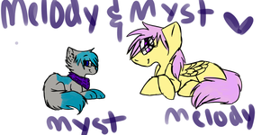 Melody And Myst by TwistedAnchor