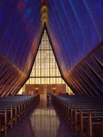 Air Force Academy Chapel 6 by Davidk1960