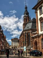 Church of the Holy Spirit -  Heidelberg I by pingallery