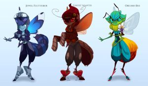 Fae Bugs Semi Customs! by painted-bees