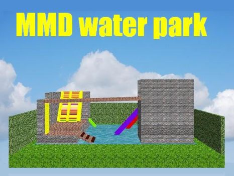 MMD water park by bawicho