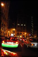San Francisco Taxi by Jannike