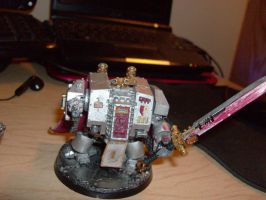 """Grey Knight Dreadnought """"Bill"""" by TheCommissarFangirl"""