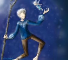 Jack Frost x Periwinkle by HezuNeutral