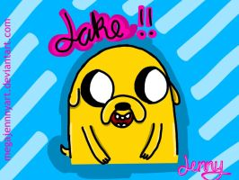 Jake!! by MegaJennyArt