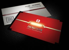 Energy Business Card by xnOrpix