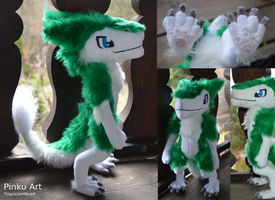 Sergal plush views by PinkuArt