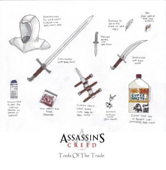 Tools Of The Assassin by gaetano125