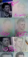 Misha Collins Step by Step by kumitawapa