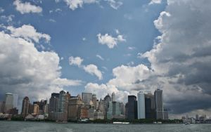 NYC Skyline 1680x1050Wallpaper by lowjacker
