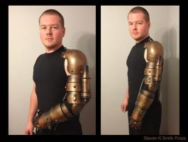 Steam Punk Arm by SKSProps