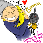 Awh yeh, Banana by Horror-Forever13