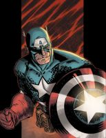 Captain America colors by csmithart