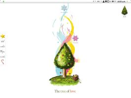 The tree of love by Designer by Macfree