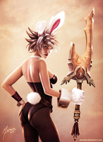 Battle Bunny Riven by martaino