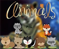 Animals Png's by MikaStoessel