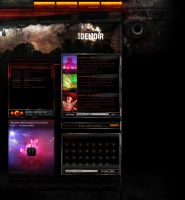 DJ Website by deNOIR
