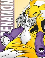 Renamon again by tailsrulz