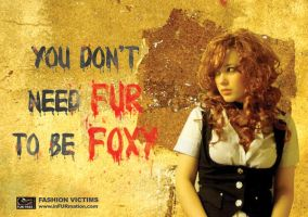 Design Against Fur Poster by messicas