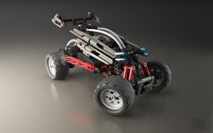 Lego RC Buggy - Shot 2 by pixelquarry
