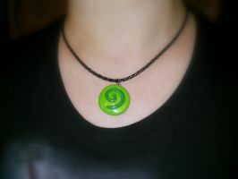 Hearthstone: Curse of Naxxramas Inspired Necklace by Euphyley