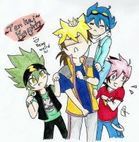Tenkai Knights Weirdness:) by HollowRain1