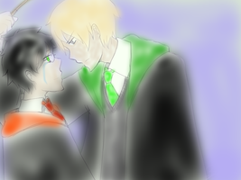 Harry and Draco by lorendiva