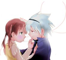 Maka x Soul by worldofp