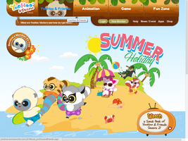 YooHoo And Friends Summer Holiday Website by PoKeMoNosterfanZG