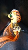 My little pony custom Ahalya by AmbarJulieta