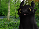 Toothless - Test Picture - New Tablet by Fragsey