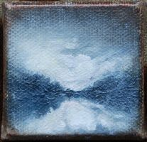 2x2 Inch Waterscape by Malicious-Monkey