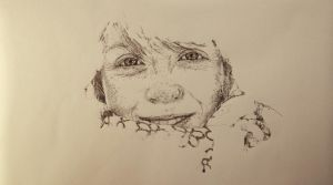 Dots portrait 3 by maptivm