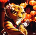 Tigress by Esther-Shen