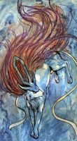 messy Suicune by FeralShorton
