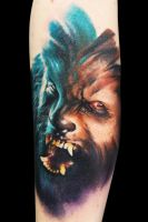 Lobo 2 by maximolutztattoo