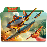 Planes Fire and Rescue Folder Icon by 87ashish