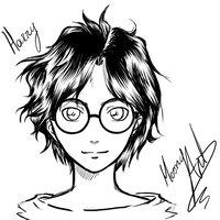 Harry Potter by xCaeli