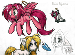 2014 04-17 Killypony Tentacle Anastasiapony by Pain-hyena
