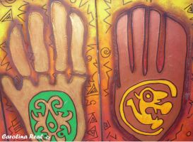 Indian Hands by Avril000Carolina