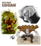 Old Man Logan - Wolverine - by Pavel Parker by pavelparker