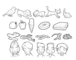 Assorted Drawings by AngelCaido